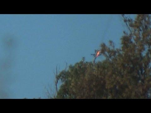 Turquía derribó un avión de combate ruso en la frontera con Siria