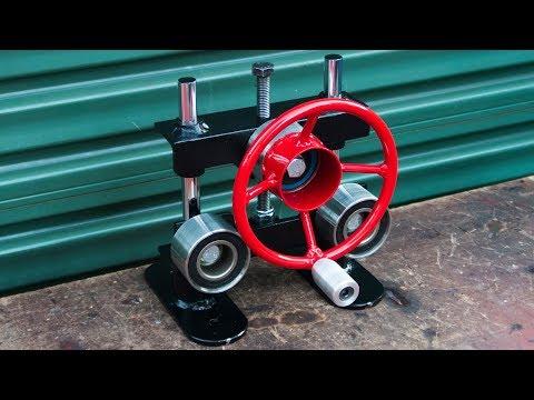 Homemade Ring roller bender