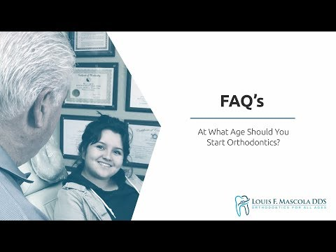 At What Age Should You Start Orthodontics? | Louis F. Mascola, DDS