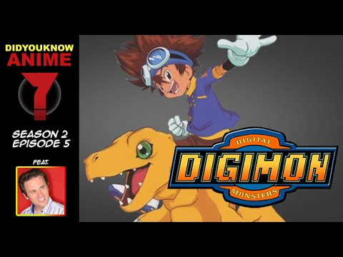 Digimon  Did You Know Anime? Feat. Joshua Seth Tai