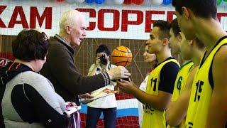 Турнир по баскетболу среди юношей 2000 г.р. и младше ко Дню города Инта (Республика Коми)