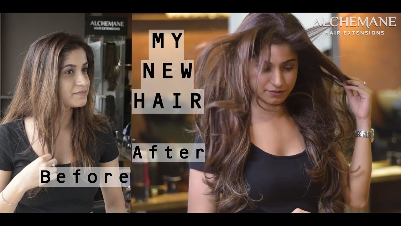 Best Hair Extensions In Mumbai Review Asif Salon Youtube