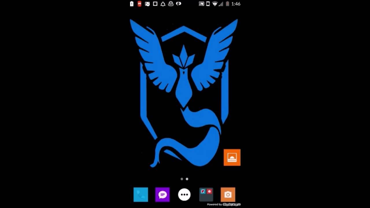 Pokemon Go Team Mystic Live Wallpaper FREE DOWNLOAD - YouTube