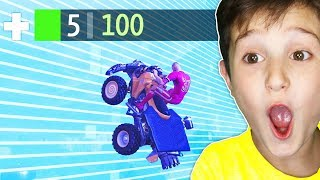 KID REACTS TO UNLUCKIEST PLAYS IN FORTNITE!!!