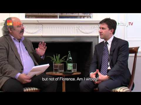 Interview with the Mayor of Florence, Dario Nardella - by Fred Plotkin