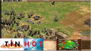 Age of Empires II - Ngựa cung Mongols BÁ ĐẠO - Đả thảo kinh xà - AOE 2  - [Tin Hot]