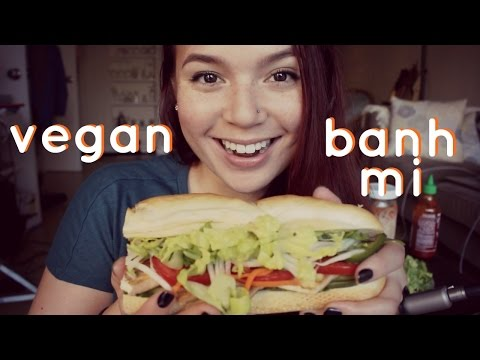 Vegan Banh Mi Sandwiches