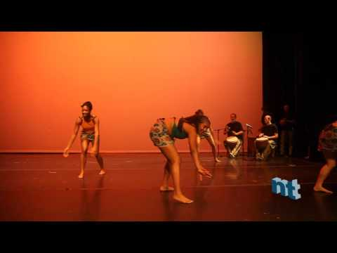 African Rhythms - Sorsonet performance at the Dance to the Future 2009 show