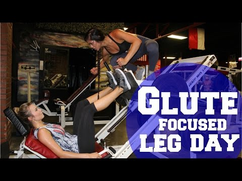 GLUTE FOCUSED LEG DAY WITH CAMILLE