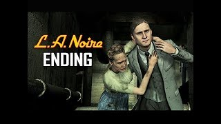 LA NOIRE Gameplay Walkthrough Part 26 - ENDING - A Different Kind of War (5 STAR Remaster)