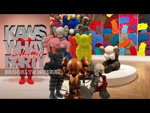 KAWS WHAT PARTY? Exhibit   Brooklyn Museum