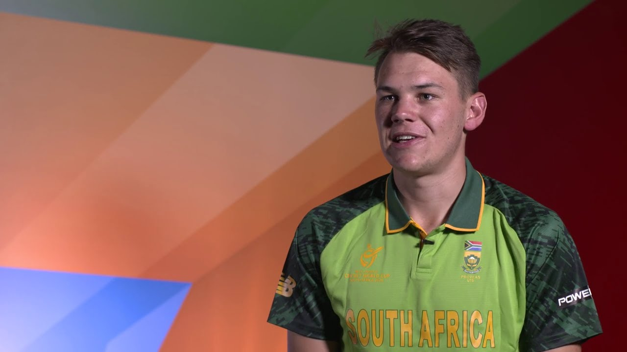 ICC U19 CWC: Get to know South Africa's Gerald Coetzee - YouTube
