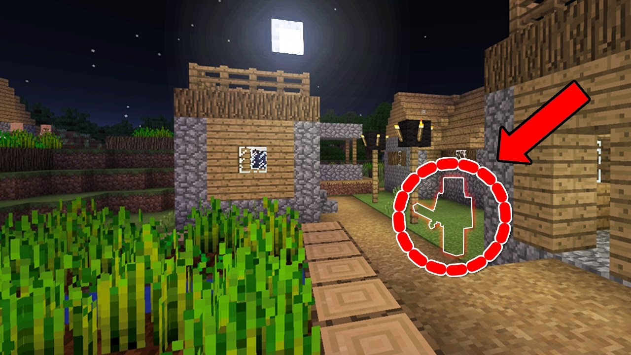 Can You Find The Ghost In Minecraft Pocket Edition