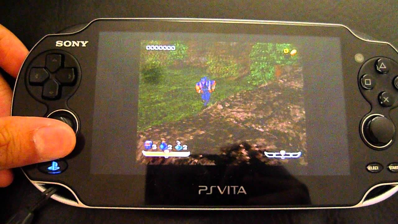 Ps Vita All Games : Ps games running on the vita firmware youtube