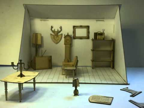 Great 3D Advertising   Furniture Catalogue (Stop Motion Animation)
