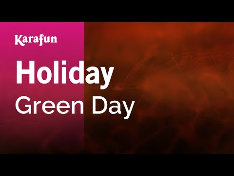 Karaoke Holiday - Green Day *