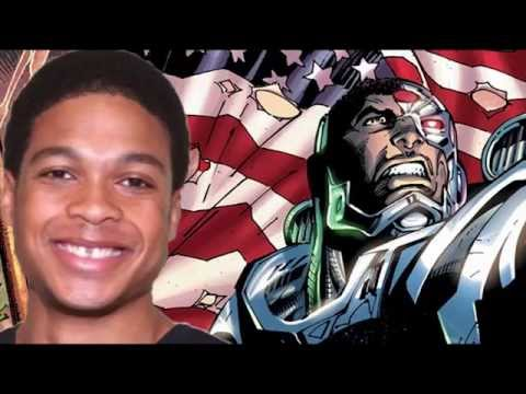 Ray Fisher Talks Cyborg and Batman v Superman!