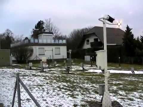 Der Deutsche Wetterdienst baut eine Wetterstation in Schauenburg