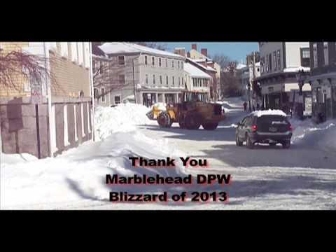 Thank You Marblehead, Massachusetts DPW