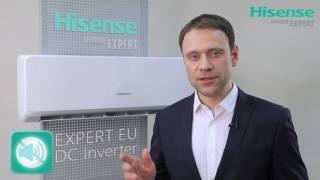 Обзор кондиционера Hisense серии EXPERT EU DC Inverter