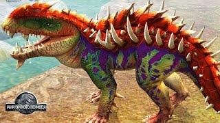 САМЫЙ СИЛЬНЫЙ ДИНОЗАВР ВСЕХ ВРЕМЕН Jurassic World The Game