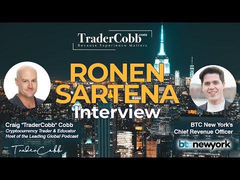TraderCobb Interviews Ronen @ Consensus Blockchain Week - New York