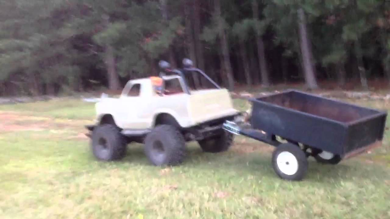 how to build a semi truck go kart