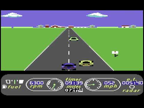 The Great American Cross-Country Road Race - C64