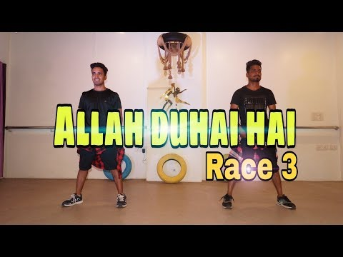 Allah Duhai Hai || Race 3 || by naughty vikas