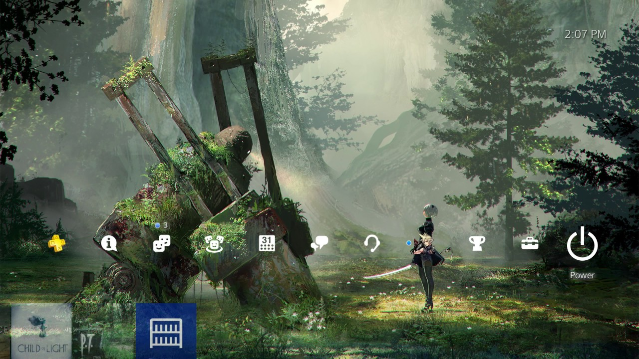 Nier Automata Forest Theme Ps4 Playstation 4 Youtube