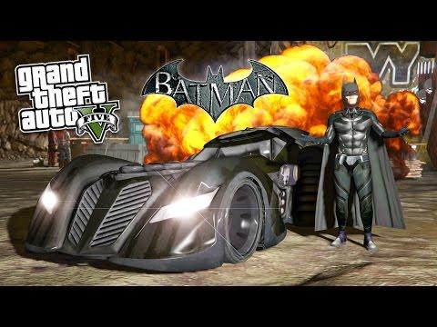 GTA 5 Mods ULTIMATE BATMAN MOD! GTA 5 Batman, Batmobile, Batwing & Batpod Mod! (GTA 5 Mods Gameplay)