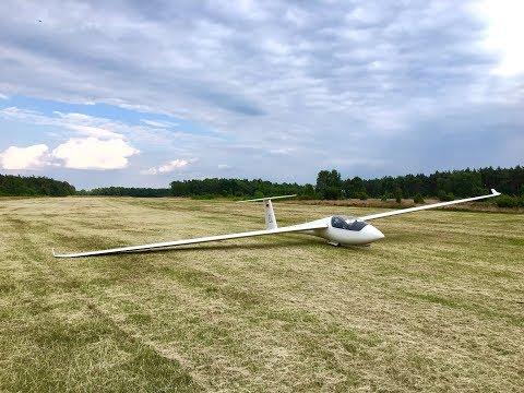 Glider Outlanding Repke ASW 19b WL | GoPro