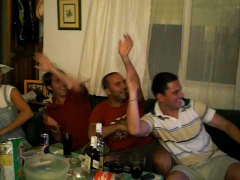 Karaoke en La Antilla 2008