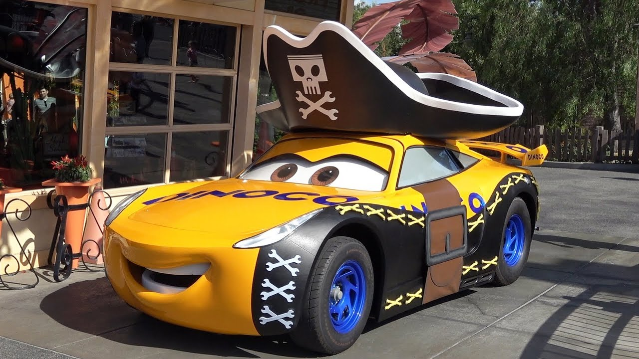 Wallpaper Woody Car Talking Cruz Ramirez In Halloween Pirate Costume Meet