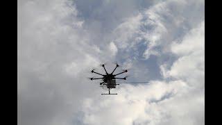 Dron sprawdzi jakość powietrza w Toruniu