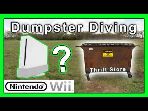 Dumpster Diving at Thrift Store #164 Nintendo Wii