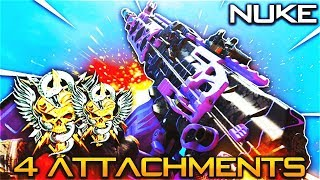4 ATTACHMENT KN-57 CLASS is LIKE CHEATING! - FLAWLESS NUCLEAR BEST KN-57 CLASS SETUP in COD BO4!