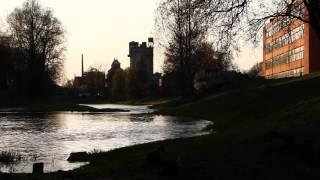 Гусев. Река Писса. Gumbinnen. Die Fluss Pissa.