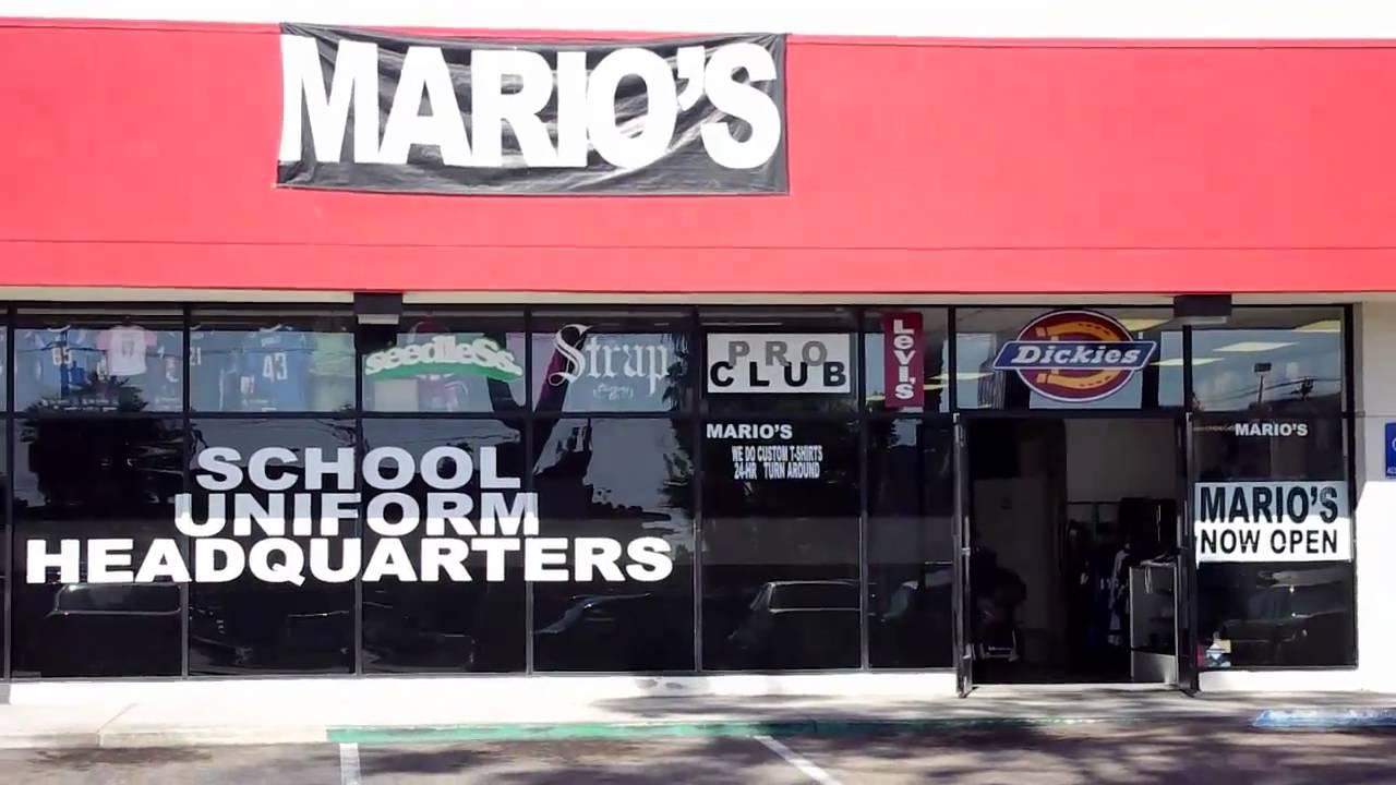 Mario S Family Clothing Store San Diego Ca