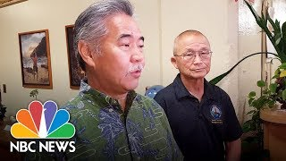 Officials investigating Hawaii missile false alarm   NBC News