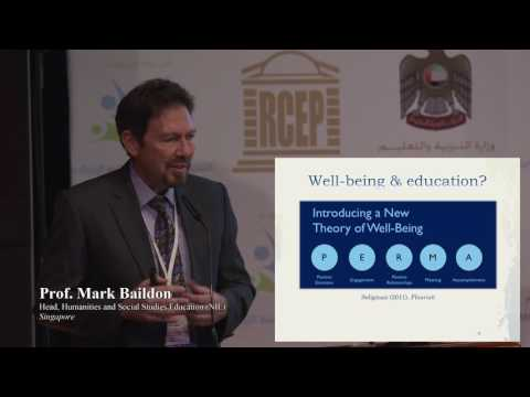 Education For Happiness and Wellbeing   Prof  Mark Baildon