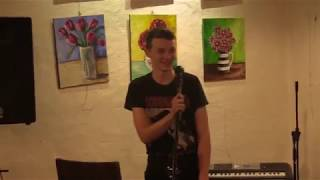Caleb Shepherd first stand-up open mic