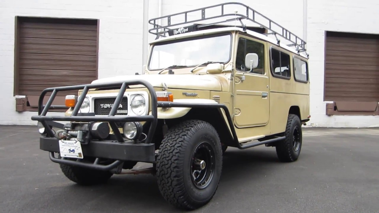 "Custom Fj Cruiser >> ** RARE ** DOT APPROVED ** 1981 TOYOTA ""TROOPY"" LAND CRUISER ** RHD ** DIESEL ** SOLD !! - YouTube"