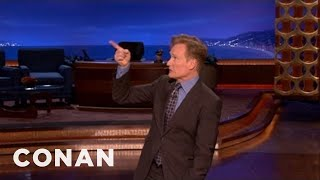 CONAN Monologue 01/08/13 - CONAN on TBS
