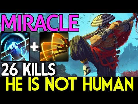 Miracle- Dota 2 [Juggernaut] IMBA Combo | He IS NOT HUMAN