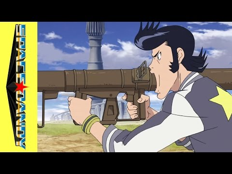 Space Dandy: Episode 10 -- Man . Calendar (Clip)