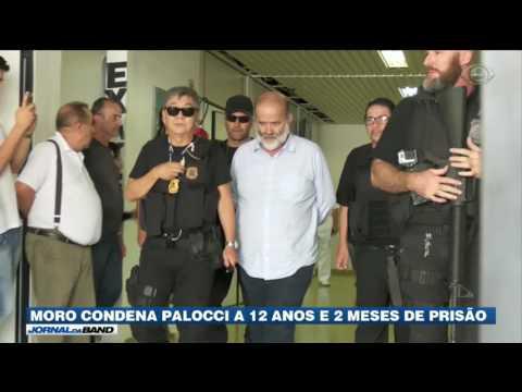Moro condena Palocci a 12 anos e dois meses de prisão
