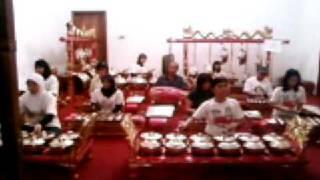Gladi bersih 1 group A, gending Rujak Jeruk
