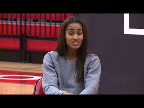 WNBA star Skylar Diggins surprises Skyline H.S.