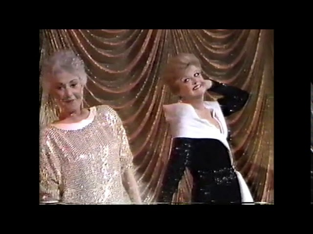 "Bea Arthur and Angela Lansbury ""Bosom Buddies"" 1988 Tony Awards"